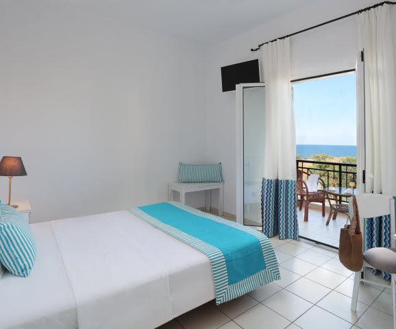 Superior Doppel- oder Zweibettzimmer mit Meerblick